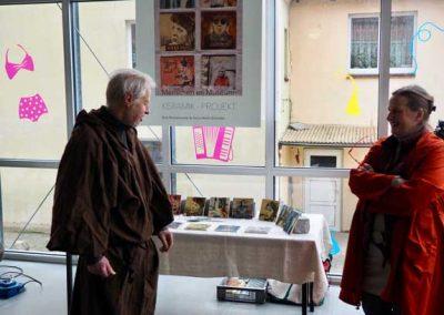 Gespräch im Museum Wustrow zur Ausstellung Mennschen im Museum